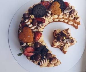cake, desert, and food image