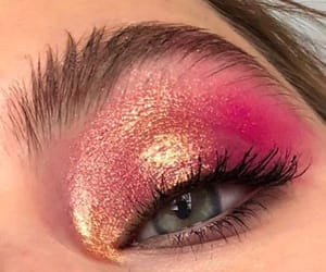 eyeshadow and pink image