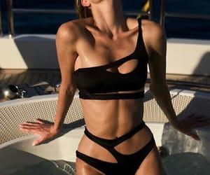 aesthetic, bikini, and body image