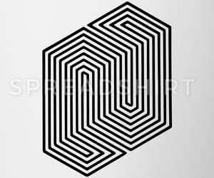 geek, trippy, and geometrie image