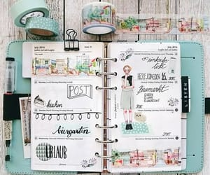 diy, filofax, and planner image