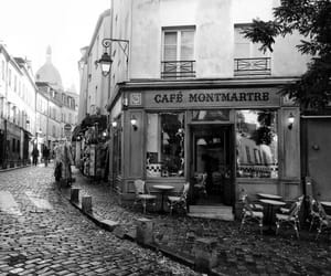 city, cafe, and coffee image