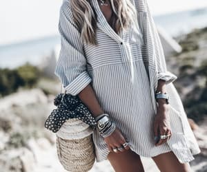 fashion, summer look, and summer life image