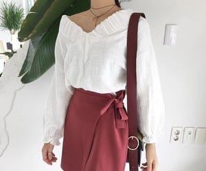 girl, korean fashion, and style image