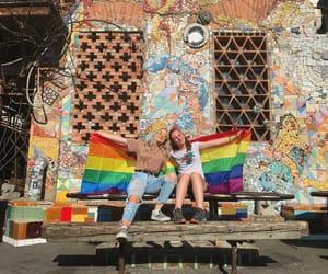 bi, gay, and gay pride image