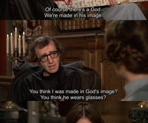 woody allen, diane keaton, and love and death image