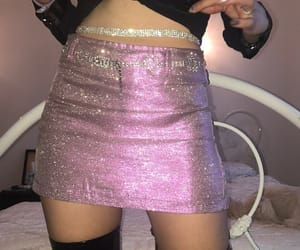 glitter, fashion, and pink image