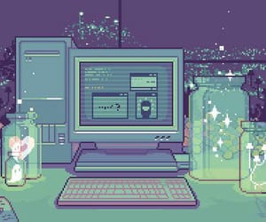 pixel, computer, and gif image