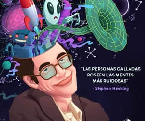art, Ilustration, and stephen hawking image