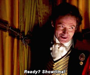 gif, hugh jackman, and the greatest showman image