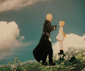anime, gif, and anime sad image