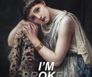 art, broken, and cry image