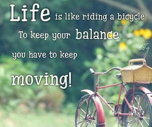 balance, life, and quote image