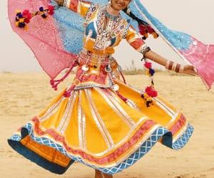 beauty, saree, and bollywood image