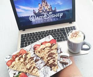 coffee, chocolate, and disney image