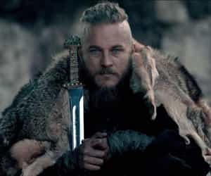 vikings, ragnar lothbrok, and ragnar image