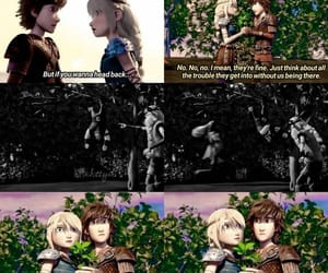 astrid, race to the edge, and hiccup image