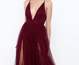 dress, fashion, and evening dress image
