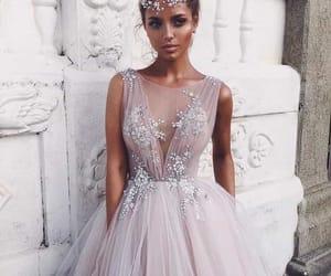 glitter, love, and dresss image