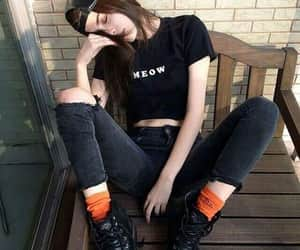 ankleboots, beanies, and beuty image