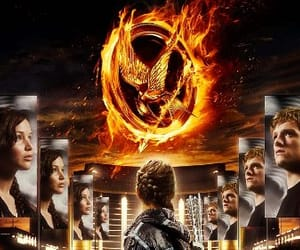 Jennifer Lawrence, willow shields, and the hunger games image