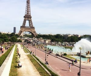 france, paris, and surprise image