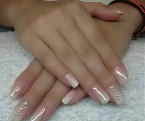 manicure, natural nails, and babyboomer image