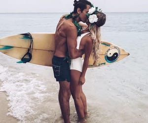 couple and summer image