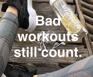 workout, quotes summer, and chic makeup image
