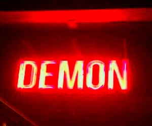 aesthetic, demon, and Devil image