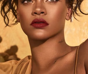 rihanna, beauty, and makeup image