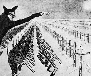 hitler, caricatura, and urss image