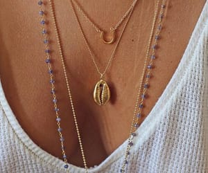 boobies, pretty, and necklase image