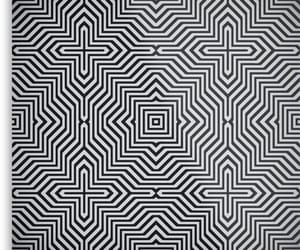 black white, redbubble, and pattern image