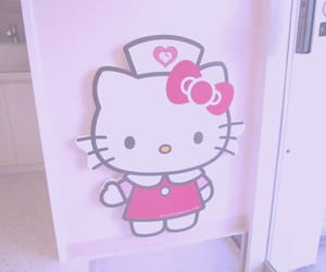 hello kitty, sanrio, and pink image