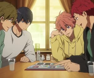 anime and free! dive to the future image