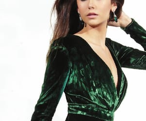actor, Nina Dobrev, and photoshoot image