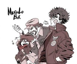 anime, megalobox, and megalo box image