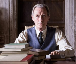 book, film, and bill nighy image