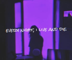 aesthetic and purple image