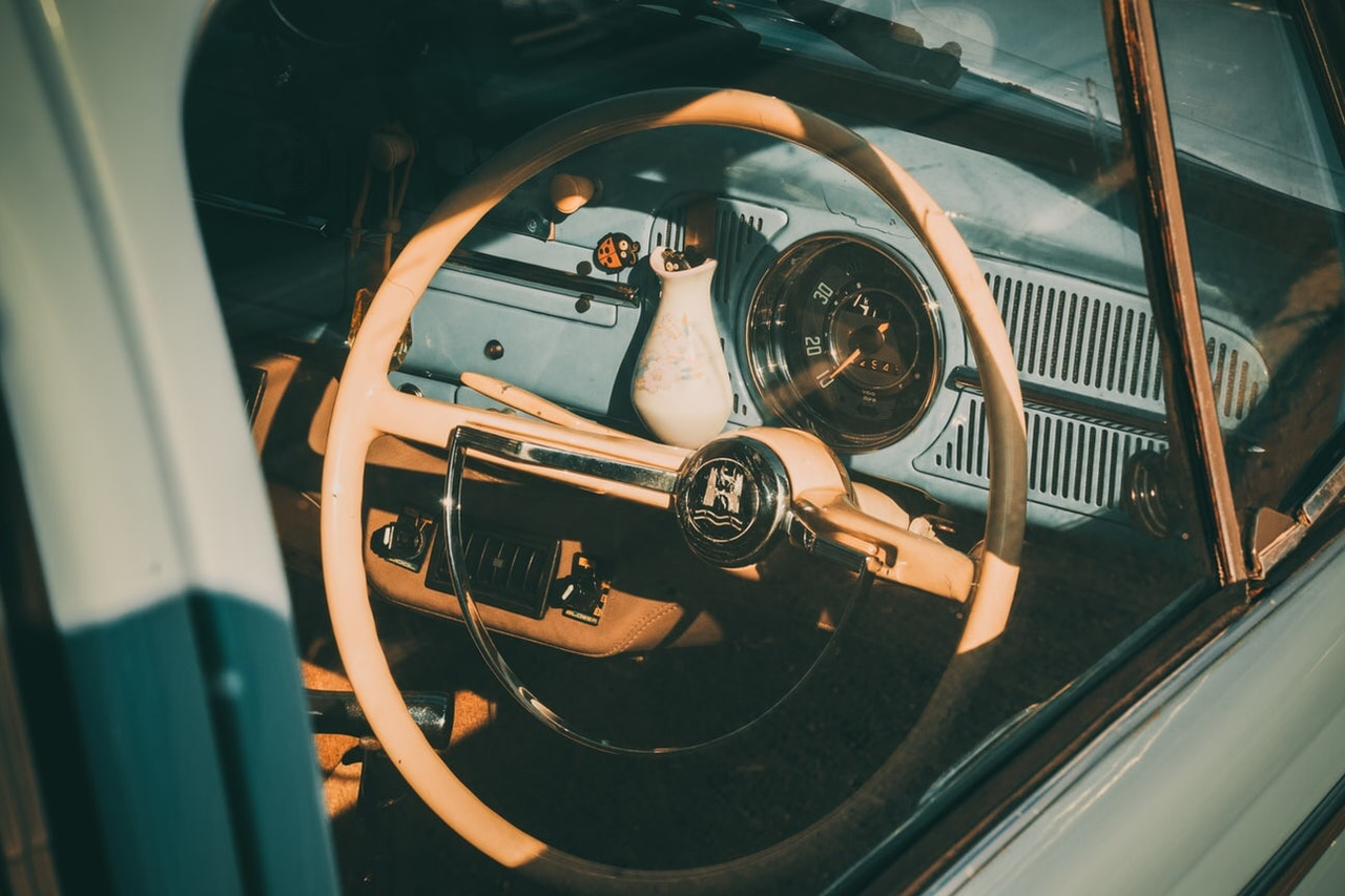 Vintage Steering Wheel Shared By Haley Roberts