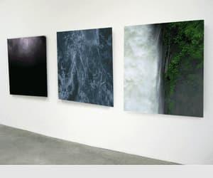 gif, waterfall, and art image