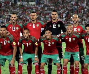 football, morocco, and fiertè image