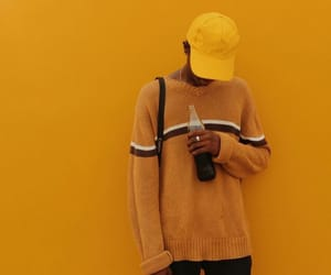 yellow, aesthetic, and guy image