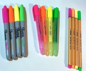 colors, neon, and highlight image