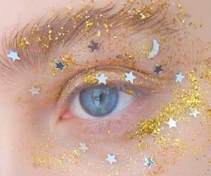 stars, eyes, and yellow image