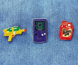 funny, gameboy, and pins image