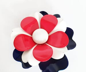 1960s, 4th of july, and flower power image