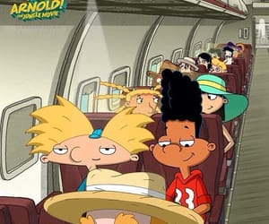 cartoons, hey arnold, and the jungle movie image