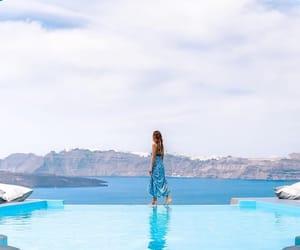 Greece, mykonos, and santorini image